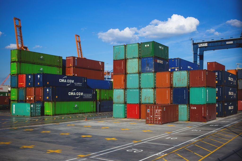 Contenedores para el transporte de mercancía